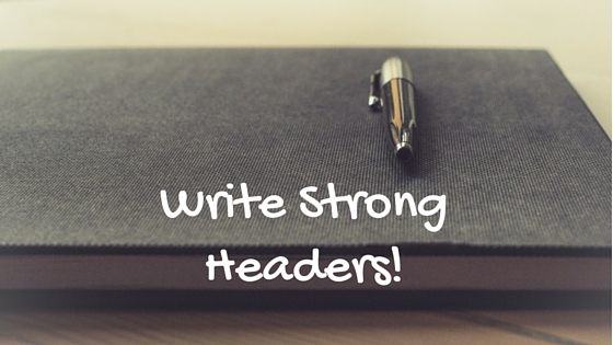write strong headers