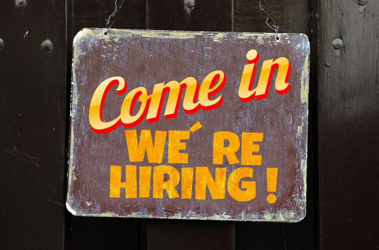 come in, we're hiring! find a job